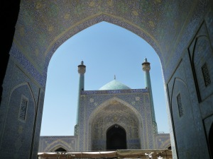 Imman Mosque in Esfahan, Iran