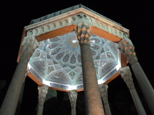 Hafez Tomb in Shiraz, Iran