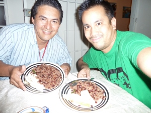 Gallo Pinto with Ronald