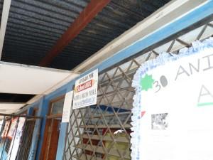 Classroom in Ruben Dario School