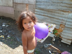 Little girl in Anexo Carlos Martinez
