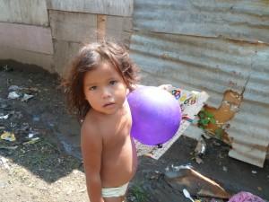 Little girl in Anexo Carlos Martinez